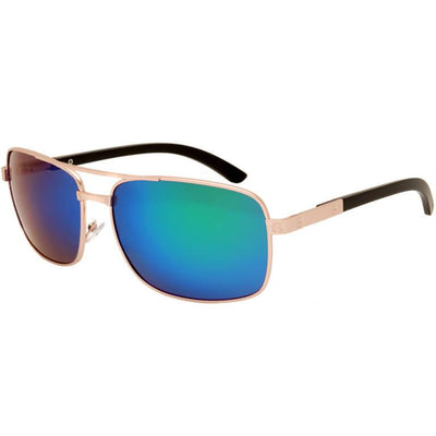 "Ανδρικά Γυαλιά Ηλίου Polarized Aviators ""THETAS"" GOLD-BLUE-e-chap"