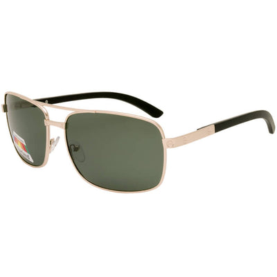 "Ανδρικά Γυαλιά Ηλίου Polarized Aviators ""THETAS"" GOLD-TENDER-e-chap"