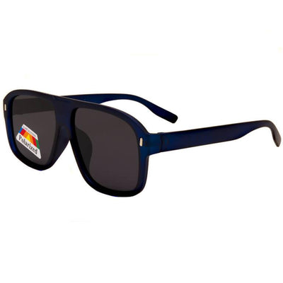 "Ανδρικά Γυαλιά Ηλίου Shield Polarized ""RACKELS""-DARKBLUE-e-chap"