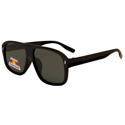 "Ανδρικά Γυαλιά Ηλίου Shield Polarized ""RACKELS""-BLACKMAT-e-chap"