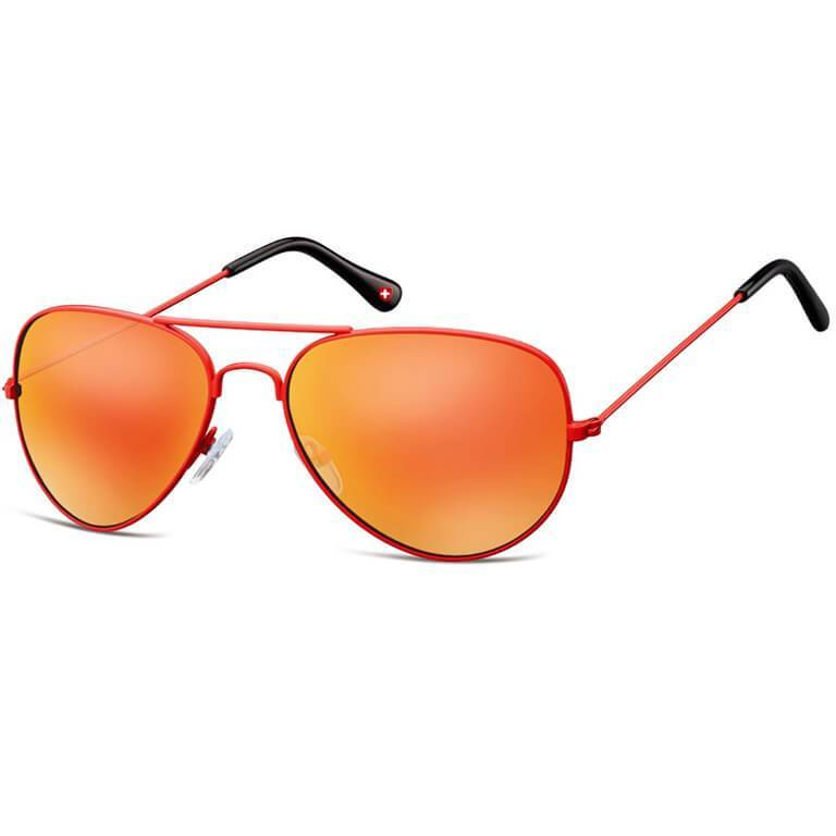 "Γυαλιά Ηλίου Aviator Montana ""Gunmetal"" MS96-ORANGE-e-chap"
