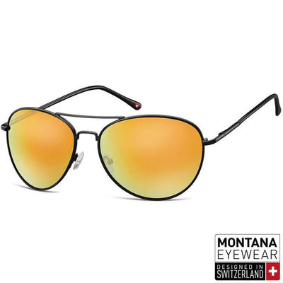 "Γυαλιά Ηλίου Aviator Montana ""Metal"" MS95-YELLOW-e-chap"