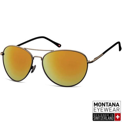 "Γυαλιά Ηλίου Aviator Montana ""Metal"" MS95-LIGHTYELLOW-e-chap"
