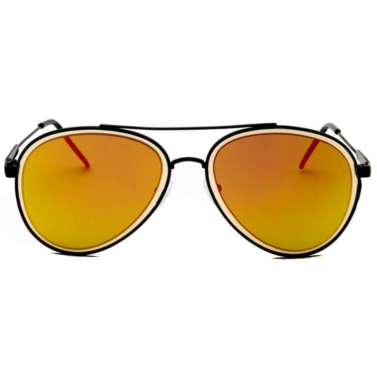 "Γυαλιά Ηλίου Aviator ""RAINBOW""-ORANGE-e-chap"