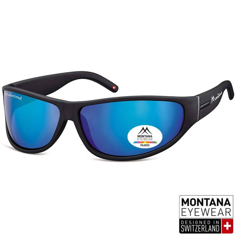 Γυαλιά Ηλίου Biker Montana Polarized Athletic SP308-BLACK-e-chap