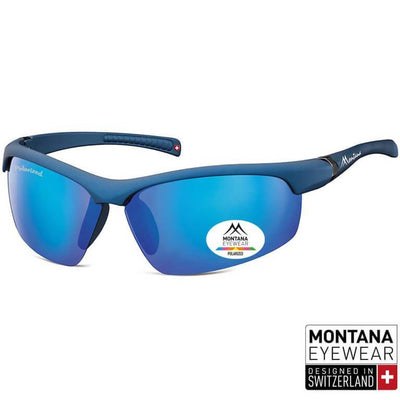 Γυαλιά Ηλίου Biker Montana Polarized Green SP302-NAVY-e-chap