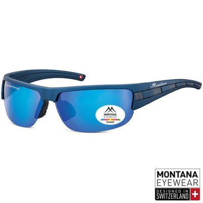 "Γυαλιά Ηλίου Biker Montana Polarized ""Mark"" SP306-BLUE-e-chap"