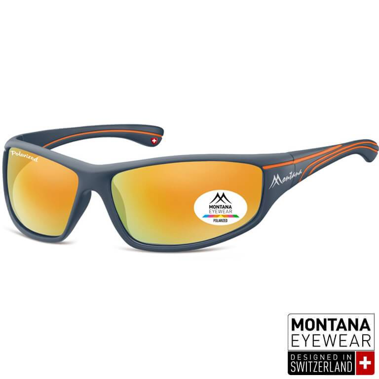 "Γυαλιά Ηλίου Biker Montana Polarized ""Mikel"" SP309-ORANGE-e-chap"