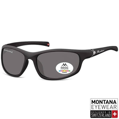 Γυαλιά Ηλίου Biker Montana Polarized Platinum SP310-BLACK-e-chap