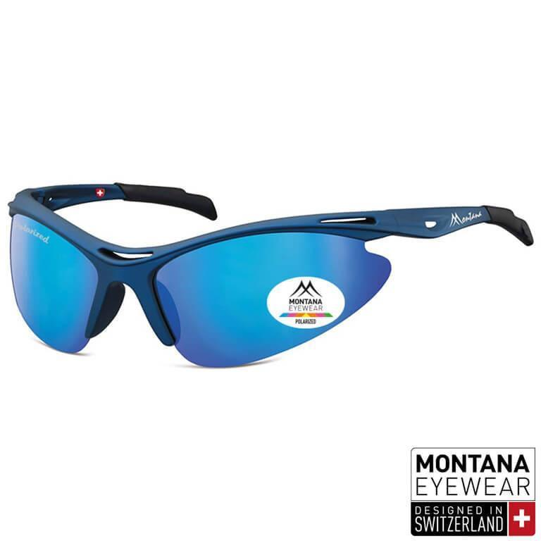 Γυαλιά Ηλίου Biker Montana Polarized SP301-DARKRED-e-chap