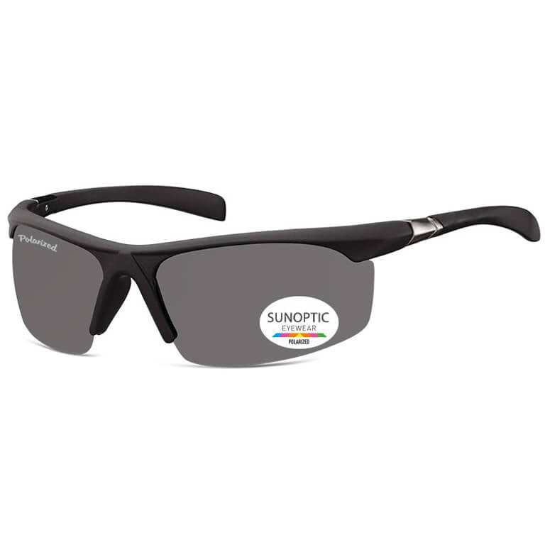 Γυαλιά Ηλίου Biker Sunoptic Polarized Curve SP303-BLACK-e-chap