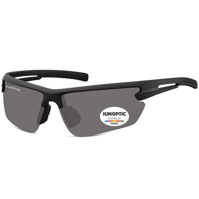 "Γυαλιά Ηλίου Biker Sunoptic Polarized ""Riding"" SP305-BLACK-e-chap"