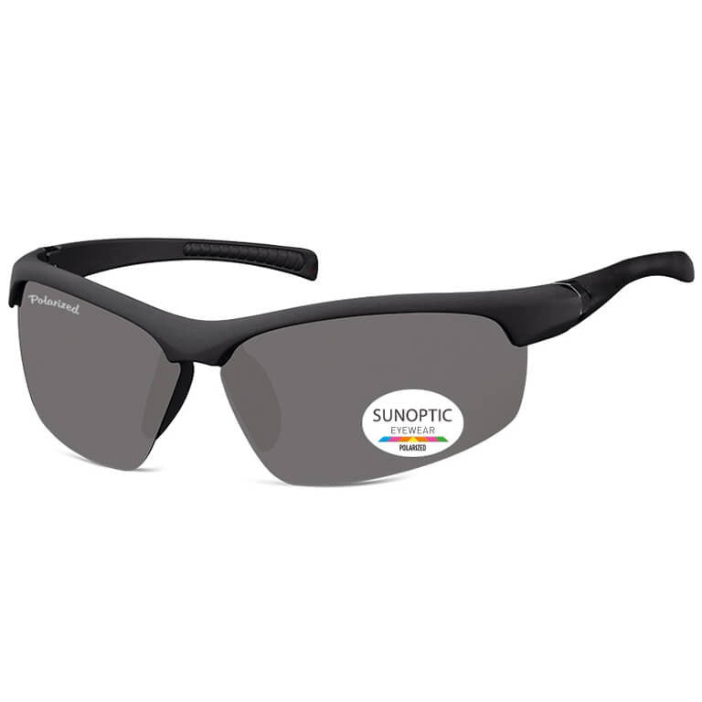 Γυαλιά Ηλίου Biker Sunoptic Polarized SP302-BLACK-e-chap