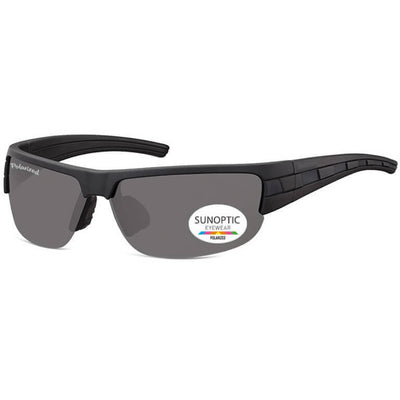 Γυαλιά Ηλίου Biker Sunoptic Polarized SP306-BLACK-e-chap