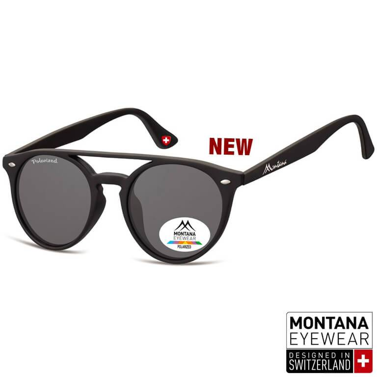 "Γυαλιά Ηλίου Pantos Montana Polarized ""ANDREW"" MP49-BLACK-e-chap"