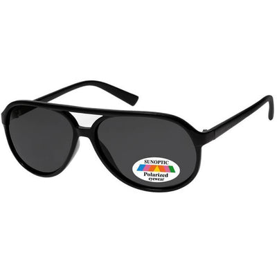 "Γυαλιά Ηλίου Pilot Polarized Sunoptic ""ERWIN"" SP113-BLACK-e-chap"