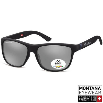 "Γυαλιά Ηλίου Wayfarer Montana Polarized ""Air"" MS312-SILVER-e-chap"