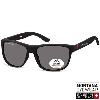 "Γυαλιά Ηλίου Wayfarer Montana Polarized ""Air"" MS312-BLACK-e-chap"