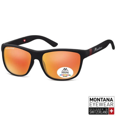 "Γυαλιά Ηλίου Wayfarer Montana Polarized ""Air"" MS312-ORANGE-e-chap"