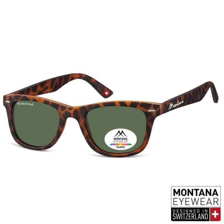 Γυαλιά Ηλίου Wayfarer Montana Polarized Color MP41-DARKRED-e-chap