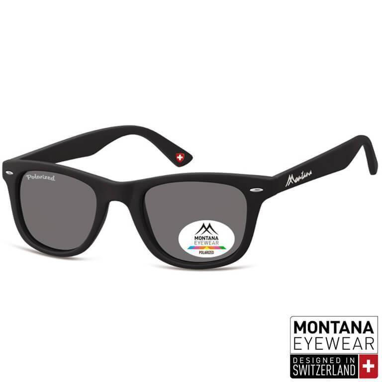 Γυαλιά Ηλίου Wayfarer Montana Polarized Color MP41-BLACK-e-chap