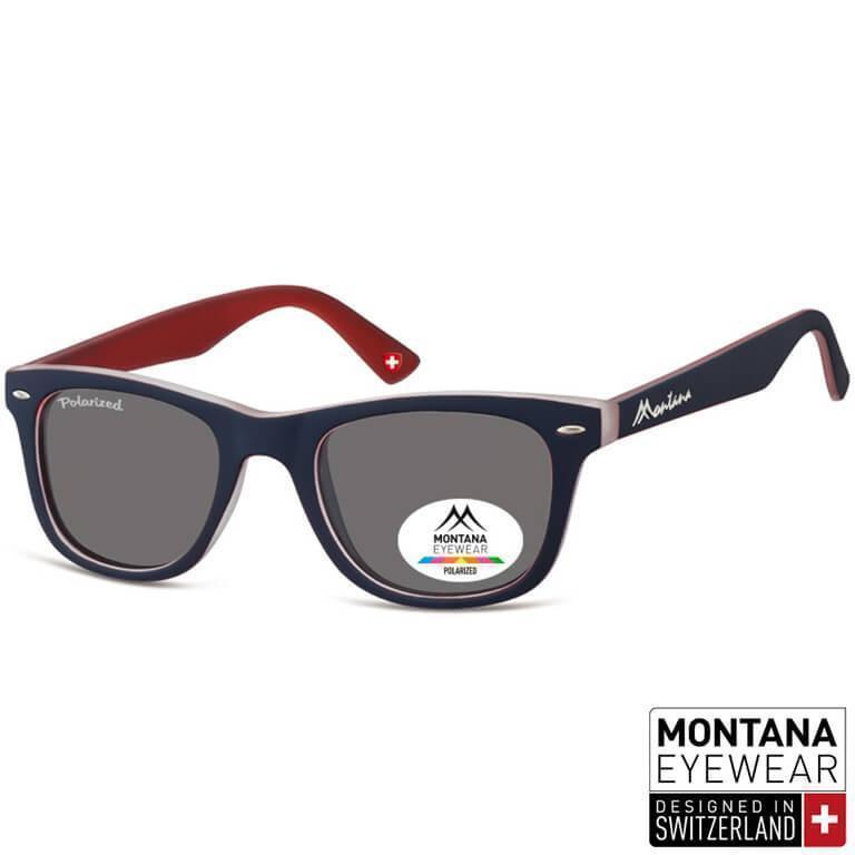 Γυαλιά Ηλίου Wayfarer Montana Polarized Color MP41-DARKRED-e-chap 994f845fc53