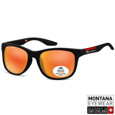 "Γυαλιά Ηλίου Wayfarer Montana Polarized ""PHILIP"" MS313-ORANGE-e-chap"