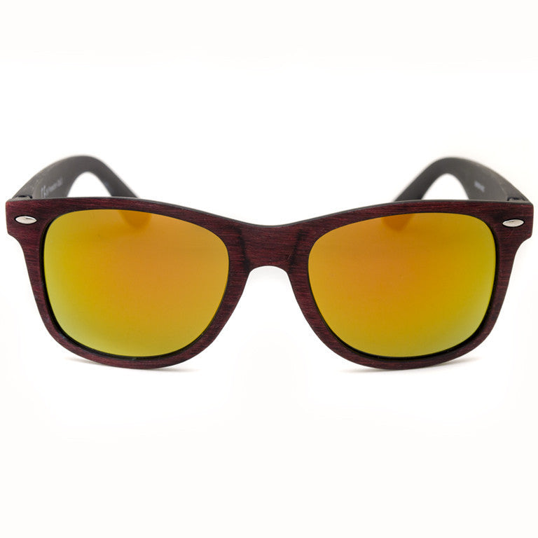 "Γυαλιά Ηλίου Wayfarers ""WALNUTS"" Orange"