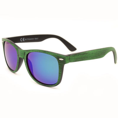 "Γυαλιά Ηλίου Wayfarers ""WALNUTS"" Orange-GREEN-e-chap"