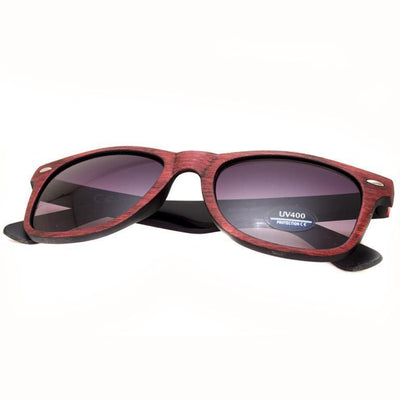 "Γυαλιά Ηλίου Wayfarers ""WOODOCK""-DARKRED-e-chap"