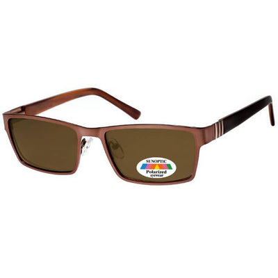 "Γυαλιά Ηλίου Wraps Sunoptic Polarized ""NIGEL"" MP221B-BROWN-e-chap"