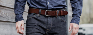 Leather Belts by Tanner Bates