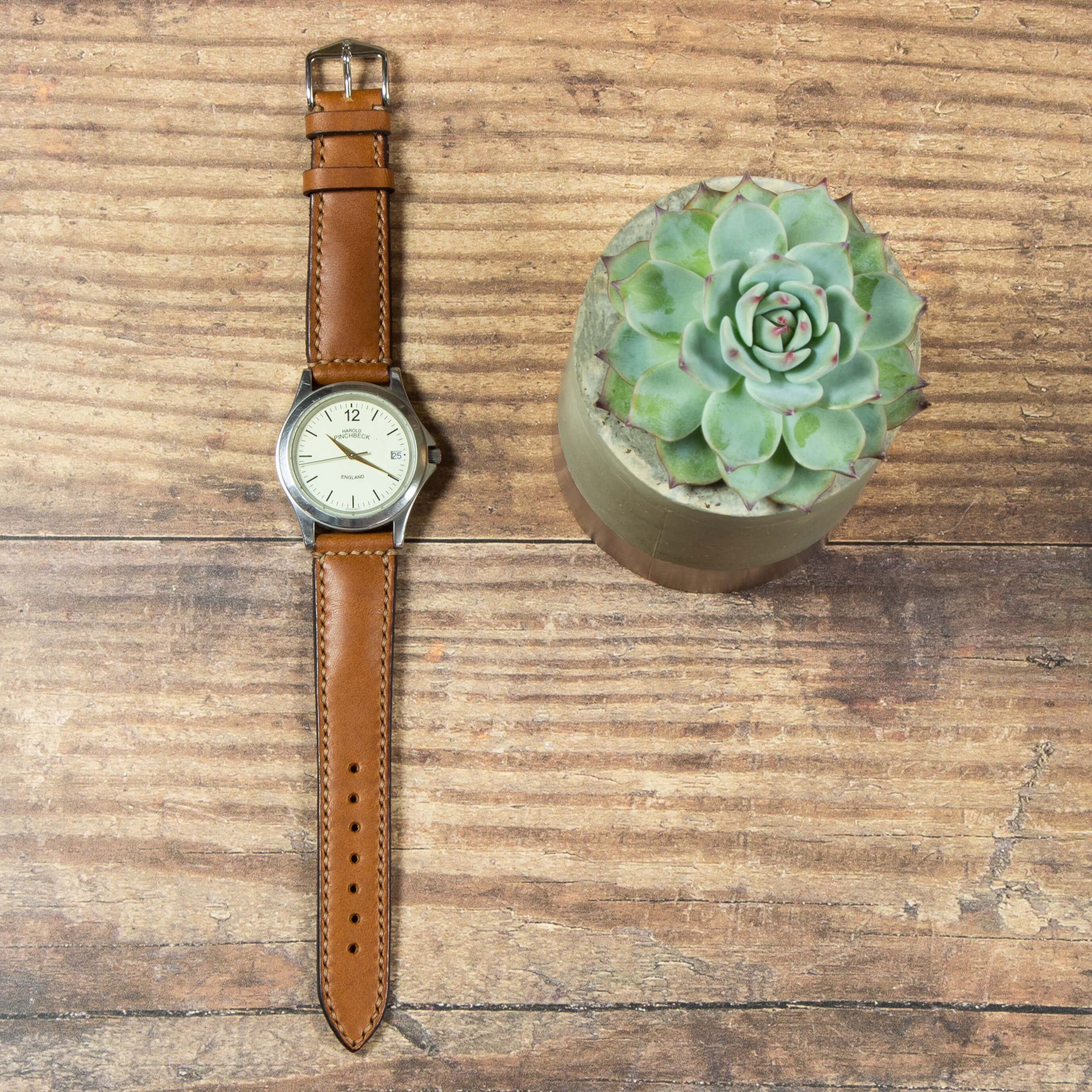 Hand Stitched watch strap