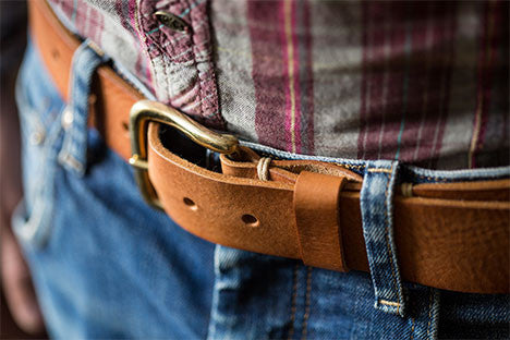 Saddle Tan Belt Kit