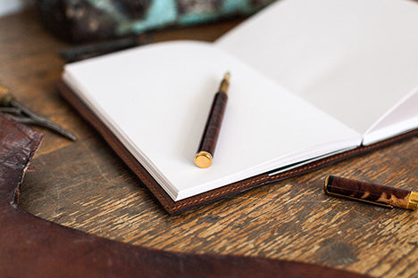 Tanner Bates Leather Bound Journal paper refills