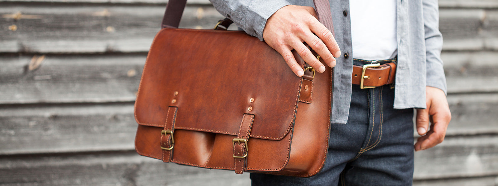 Messenger bag by Tanner Bates
