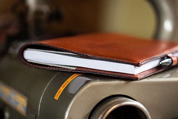 Oak Bark Tanned PenLoop Notebook by Tanner Bates