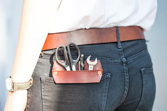 Leather Pocket Protectors Tanner Bates