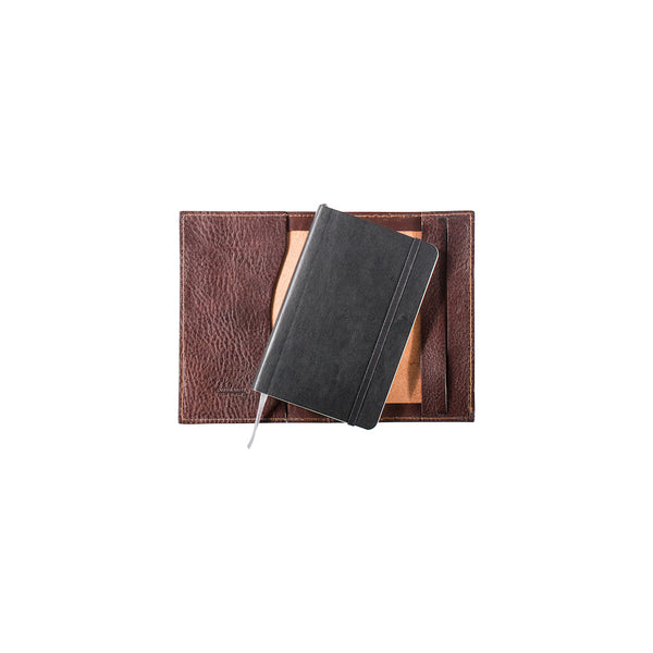 Pocket Leather Molskine Journal