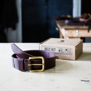 Leather School® Belt Kit