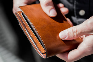 Cut Edge Billfold Wallet
