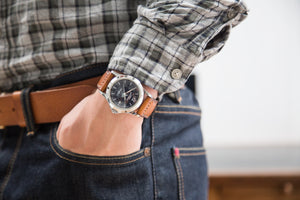 Watch Strap - Hand Stitched and Bespoke