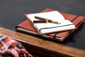 Classic Leather Bound Moleskine Journal