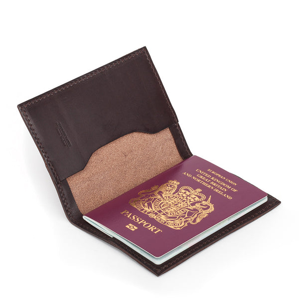 Tanner Bates Leather Passport Holder