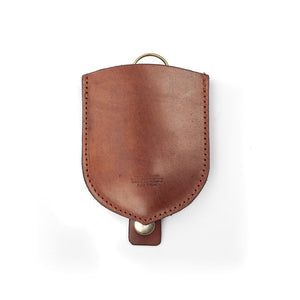 Rich Brown Key Pouch by Tanner Bates