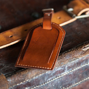 Tanner Bates Steamship Luggage Tag