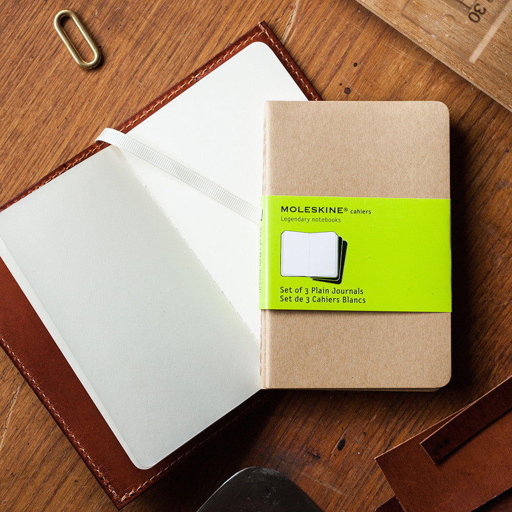Leather Bound Notebooks Journals Tanner Bates Ruled Notebook A6 Moleskine Gold Cahier Paper Refills