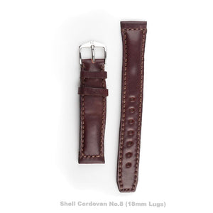 Speciality Leather Watch Strap - Hand Stitched and Bespoke