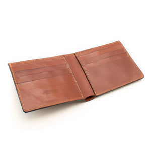 Cut Edge Billfold Wallet (Tan)