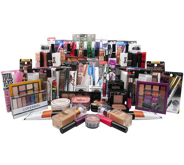 Liquidation Assorted Covergirl - Loreal - Maybelline - Rimmel - BOX 125PCS (CLMR)
